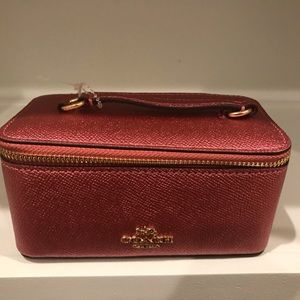 Coach accessory/jewelry bag